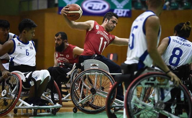 Afghanistan's Wheelchair Basketballers Shoot To Win
