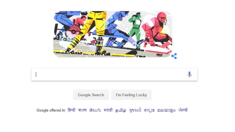 गूगल ने डूडल बनाकर किया दिव्यांगों के हौसले का सम्मान