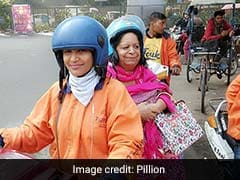On Women's Day, Meet Delhi's First Female Bike Taxi Driver