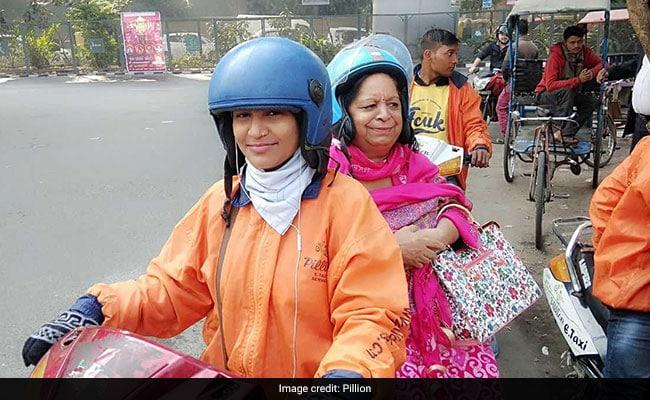 On Women's Day, Meet Delhi's First Female Bike Taxi Driver