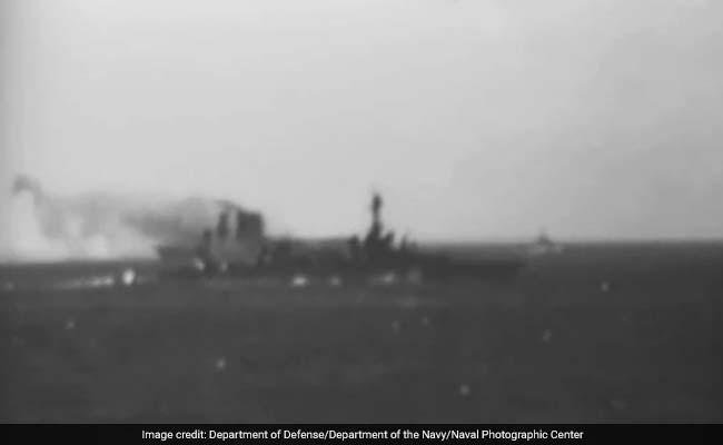 WWII Warship Was Lost. Tech Billionaire Paul Allen Just Found It