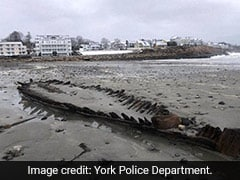 Nor'easter Winds Reveal Surprising Beach Discovery: Remains Of A Revolutionary War-Era Ship