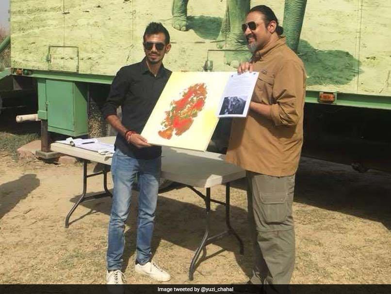 Yuzvendra Chahal Pays A Visit To Elephant Rescue Centre