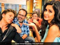 Here's Why <i>Zero</i> Co-Stars Shah Rukh Khan And Katrina Kaif Keep Posting Funny Pics