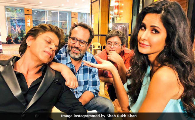 Here's Why Zero Co-Stars Shah Rukh Khan And Katrina Kaif Keep Posting Funny Pics
