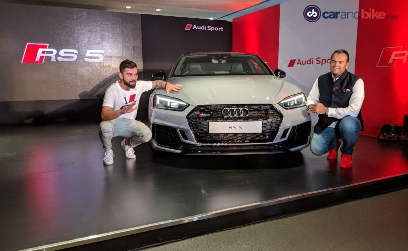 2018 Audi RS5 Coupe Launched In India; Priced At ₹ 1.10 Crore