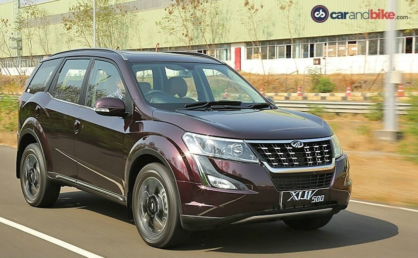 2018 Mahindra Xuv500 Facelift Review Ndtv Carandbike