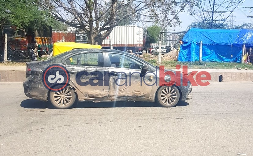 2018 Maruti Suzuki Ciaz Facelift Caught Testing Again; Launch This Year