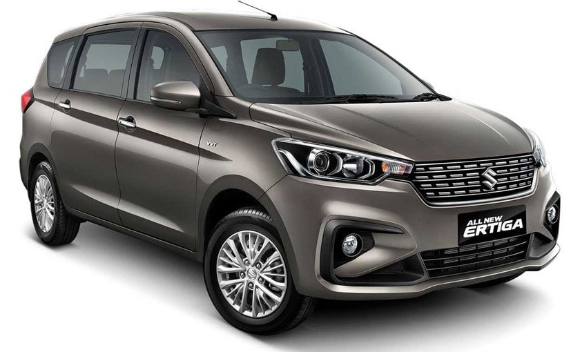 India-Bound Suzuki Ertiga Unveiled At Indonesia Motor Show 2018