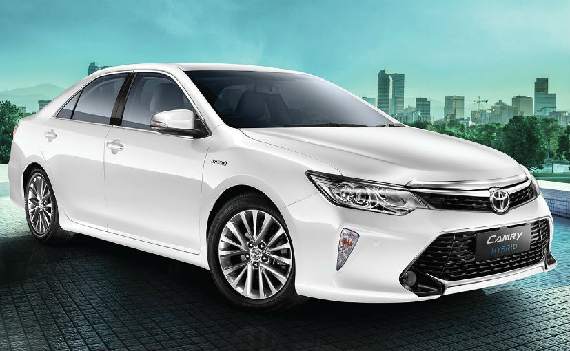 2018 Toyota Camry Hybrid Introduced In India With New