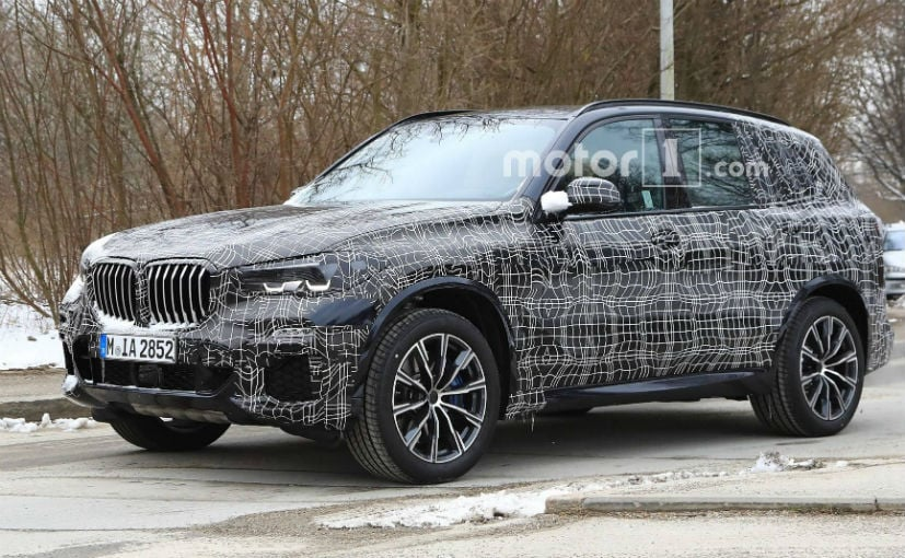 2019 bmw x5 spotted testing again ndtv carandbike. Black Bedroom Furniture Sets. Home Design Ideas