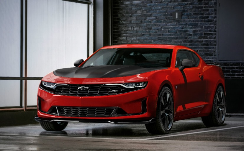Chevrolet Camaro Breaks Cover In USA