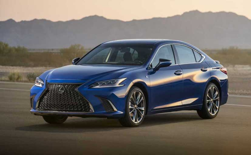 2019 Lexus ES Breaks Cover At Beijing Motor Show