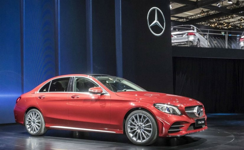 MercedesBenz CClass L Extended Wheelbase Revealed At Beijing - Mercedes car show 2018