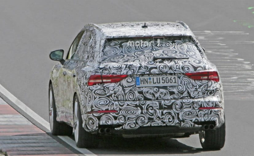 2020 Audi SQ3 Performance Crossover >> 2020 Audi Sq3 Spied Testing In Europe Ndtv Carandbike