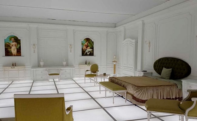 Replica Of Bedroom In '2001: A Space Odyssey' On Display In Washington