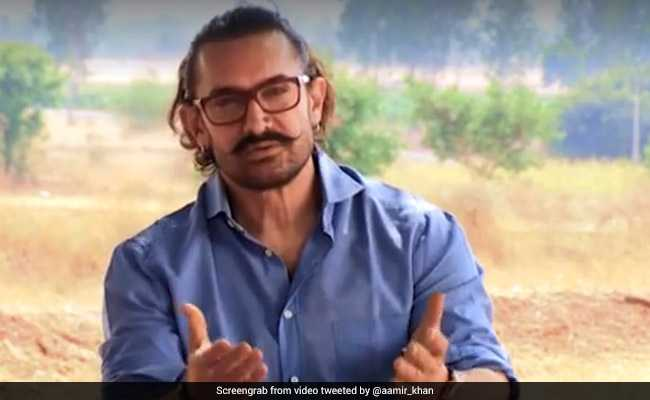 Aamir Khan Urges People To Join The Movement Against Drought In Maharashtra