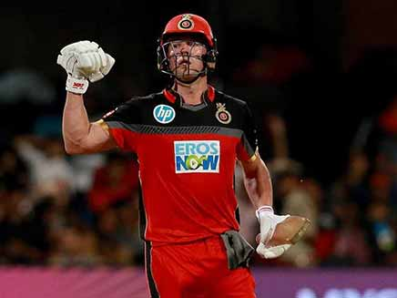 IPL 2018: AB de Villiers Powers Royal Challengers Bangalore To A Six-Wicket Win vs Delhi Daredevils