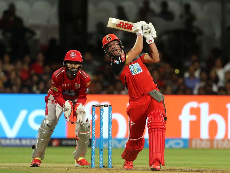IPL Highlights, Royal Challengers Bangalore vs Kings XI Punjab: AB de  Villiers 50 Helps
