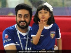 Aaradhya Left Dad Abhishek Bachchan An Adorable Sticky Note