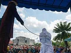 In Indonesia, Couples Whipped For Showing Affection In Public