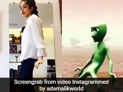 इस स्टार डॉटर ने किया एलियन के साथ डांस कॉम्पटीशन, Video Viral