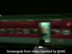 Watch: As Train Ran Without Engine, People Screamed To Alert Passengers