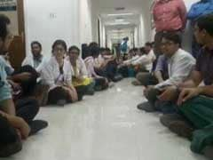 AIIMS Resident Doctors Continue Their Strike Over Alleged Assault By A Senior
