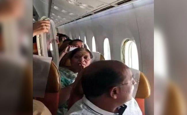 air india amritsar delhi turbulence ani