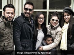 Ajay Devgn Is Holidaying In Paris With Kajol And Children. See Pics