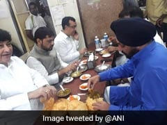 Congress Leaders Ate At Restaurant Before Protest Fast, BJP Tweets Photo