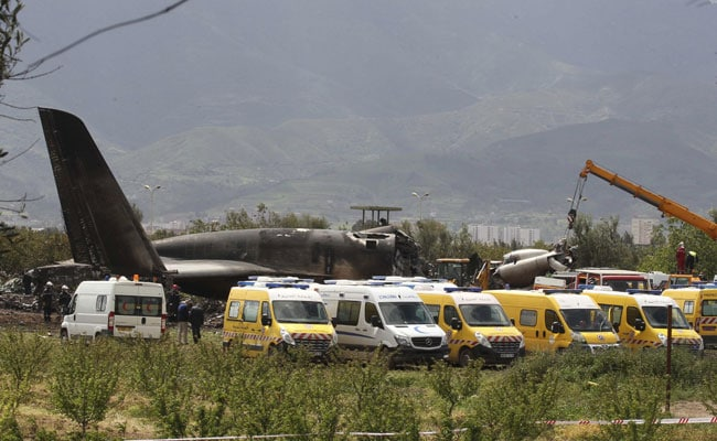Algerian Military Plane Crashes Near Boufarik Airport, 257 Killed