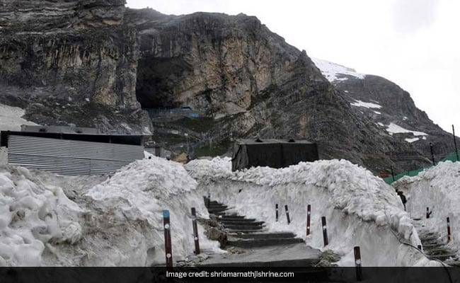 Top Court Sets Aside Green Court 'Silence Zone' Order At Amarnath Shrine