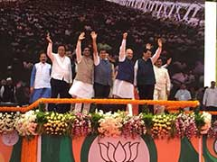 BJP Foundation Day Live Updates: Amit Shah Addresses Mega Mumbai Event Says, The Countdown For 2019 Has Begun