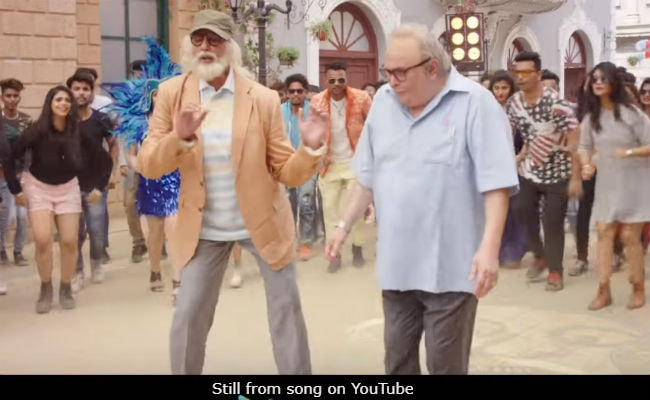 102 Not Out Song Badumbaaa: Amitabh Bachchan Makes 'Boring' Rishi Kapoor Dance And How