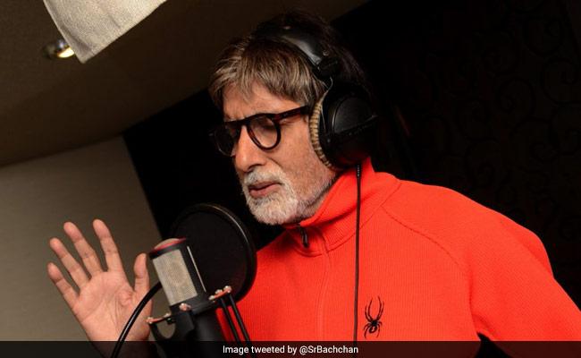 बीमारी के बावजूद अमिताभ बच्चन ने गाया गाना, ट्वीट कर लिखा- 'म्यूजिक की दुनिया...'