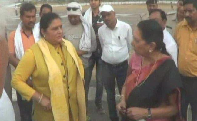 मध्यप्रदेश की राज्यपाल आनंदीबेन पटेल ने BJP नेताओं को बताया, कैसे मिलते हैं वोट