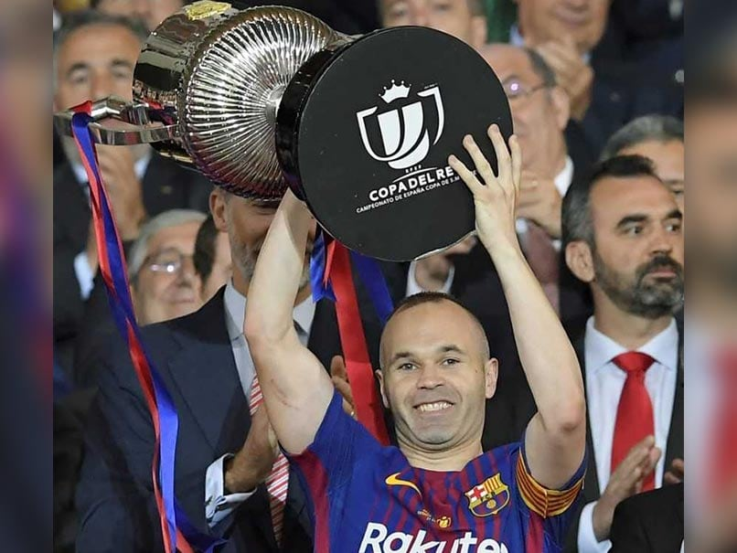 Andres Iniesta Says Emotional Copa del Rey Final May Be His Last For Barcelona