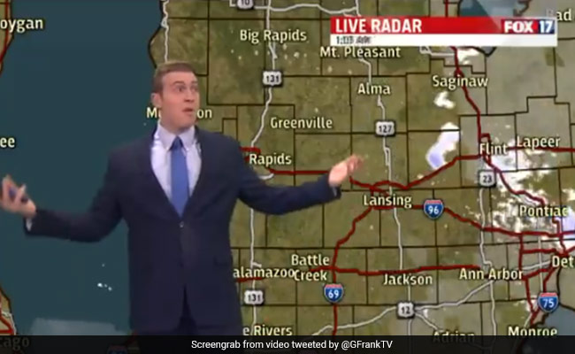 Weatherman, Sick Of People Complaining About The Cold, Loses Cool On Air