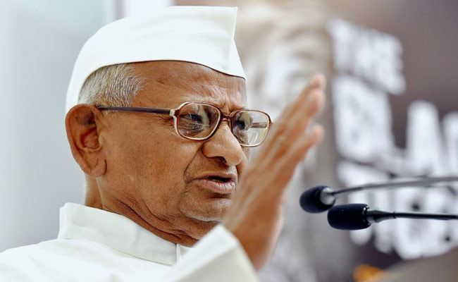 Delhi BJP Asks Anna Hazare To Join Its ''Mass Movement'' Against AAP