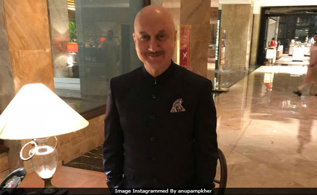 Indian actor Anupam Kher nominated for BAFTA award