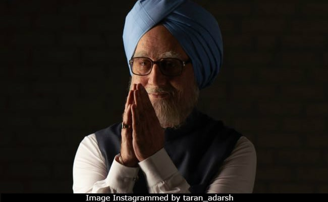 Anupam Kher Is Manmohan Singh's Double On The Accidental Prime Minister Poster