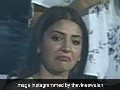 IPL 2018: विराट के कैच को देख हैरान रह गईं अनुष्का शर्मा, Video हुआ वायरल
