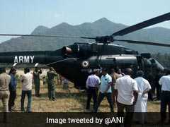 Army Chopper Forced To Land In Field Near Vellore After Engine Snag