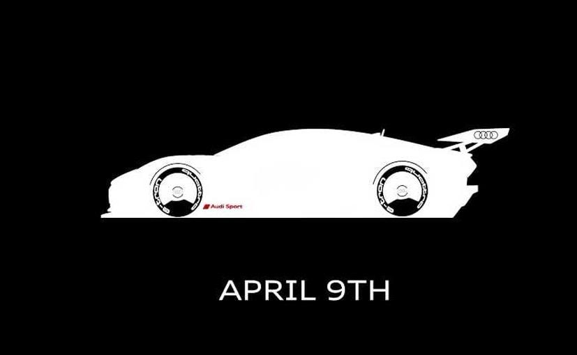 Audi e-Tron Vision Gran Turismo Teased Ahead Of Reveal