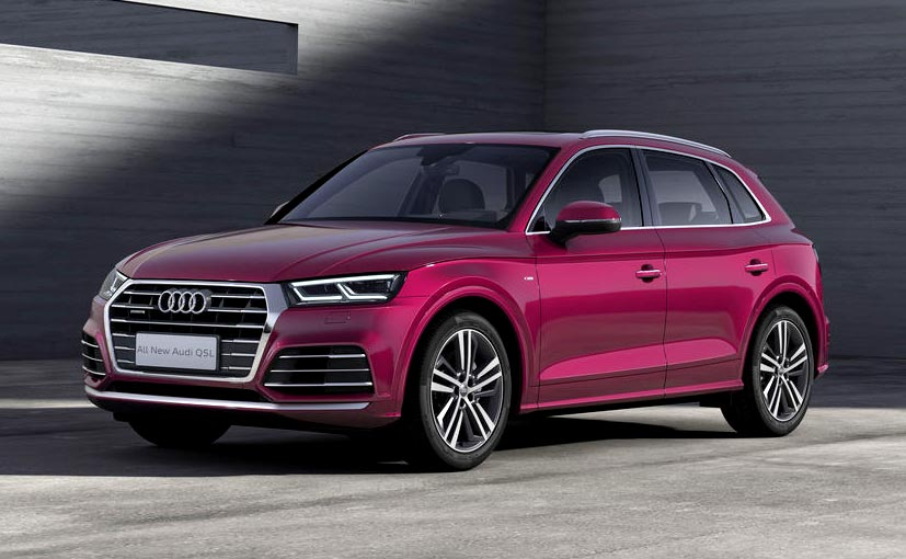 Audi Q5 LWB Revealed For China Market At Beijing Motor Show