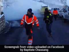 People Chased By Tsunami Of Snow As Avalanche Hits. Watch Terrifying Video