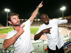 Commonwealth Games 2018: Thor Just Recruited A New Avenger And He's Faster Than The Flash. Usain Bolt, Peeps