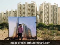 """Bad City Dreams"": Photos That Capture Darker Shades Of Gurgaon's Boom"