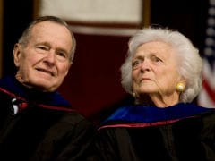 Barbara Bush, Former First Lady, Turns To 'Comfort Care'
